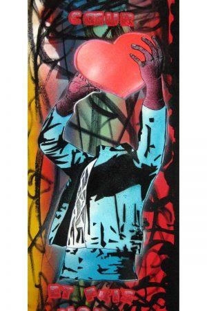 Simy-First-vas-y-prends-mon-coeur-et-fais-moi-rire-street-art-urbain-pochoir-technique-mixte