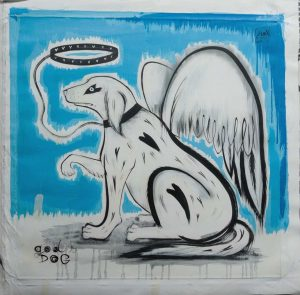 Liox-Street-Art-Urban-Artree-ybackgalerie-god-dog