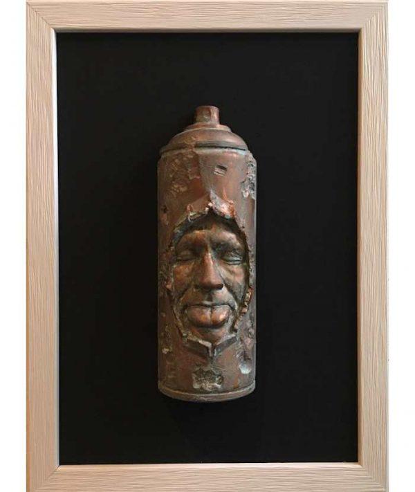 Gregos-Spray-Can-Bronze-2019-Confin-Art-artree-ybackgalerie