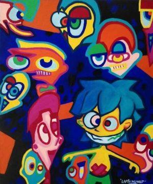 Lapin-mutant-toile-street-art-urban-art-le-jardin-de-Joris-2020-ARTree-Ybackgalerie