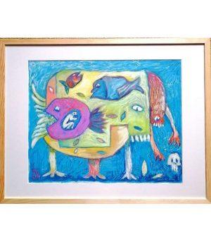 Emmanuel-Torlois-NO-REGRET-2020-Art-Outsider-ARTree-ybackgalerie