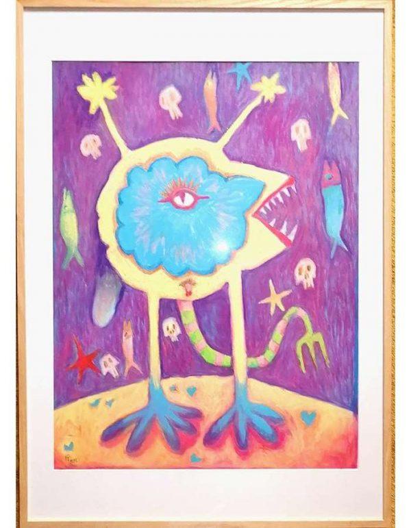 Emmanuel-Torlois-WAR-ON-MARS-2020-Art-Outsider-ARTree-ybackgalerie