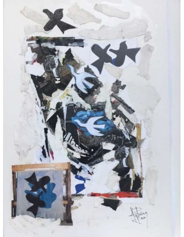 Alain-Aghaian-recup-art-Collage-2020-ARTree-Ybackgalerie