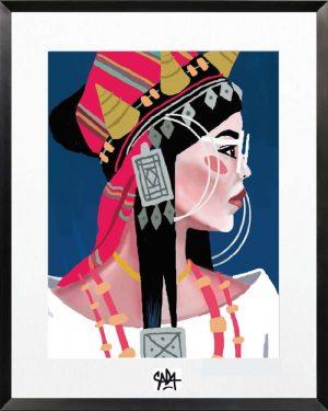Sada-Ethnic-chic-2-Print-Ybackgalerie-ARTree