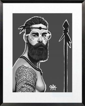 Sada-Ethnic-chic-7-Print-Ybackgalerie-ARTree