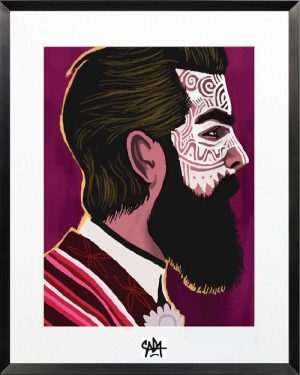 Sada-Ethnic-chic-8-Print-Ybackgalerie-ARTree