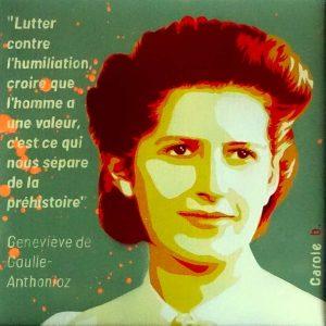Geneviève-De-Gaulle-Anthonioz-l'humaniste-pochoir-Carole-b-Ybackgalerie-ARTree