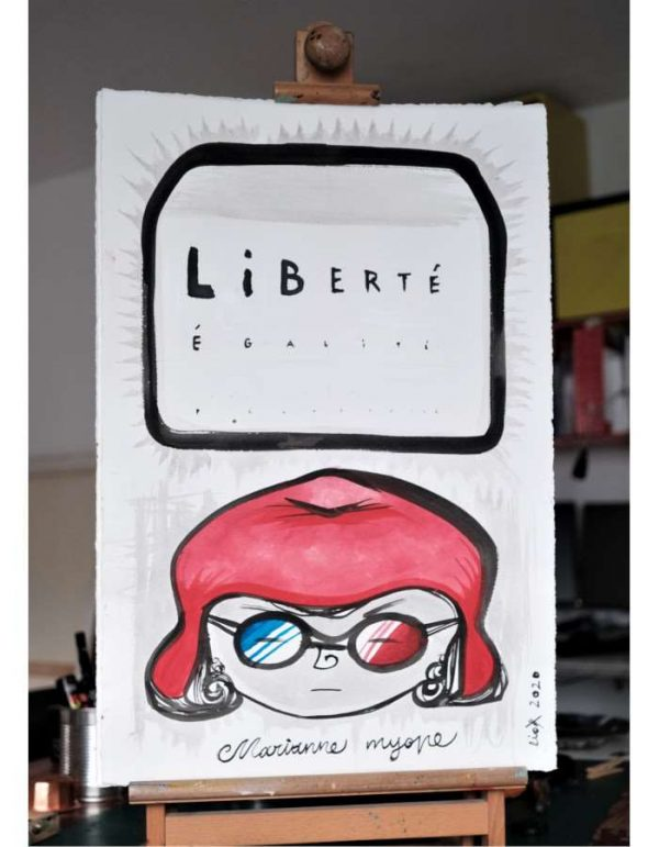 Liox-Street-Art-Urban-Marianne-myope-artree-ybackgalerie