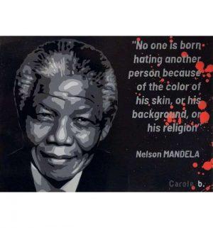 Nelson-Mandela-le-libérateur-Carole-b-Ybackgalerie-ARTree