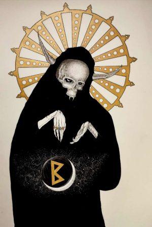 Alec-Sonder-Rune-berkano-original-Ybackgalerie-ARTree