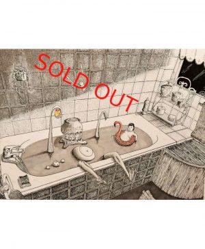 Alec-Sonder-l-heure-du-bain-Original-Sold-Out-Ybackgalerie-ARTree