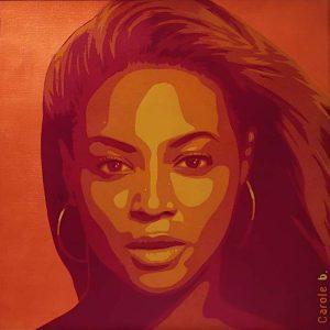 Beyoncé-Projet-Warhol-pochoir-4-sur-10-Carole-b-Ybackgalerie-ARTree