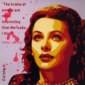 Hedy-Lamarr-l-inventrice-Carole-b-Ybackgalerie-ARTree