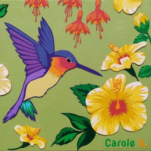 Un-coin-de-paradis-numéro-25-Carole-b-Ybackgalerie-ARTree