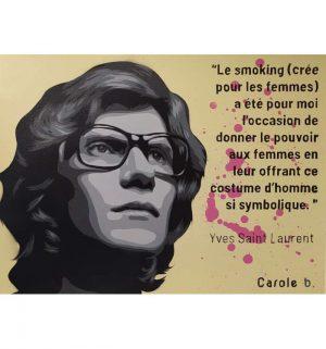 Yves-Saint-Laurent-le-révolutionnaire-Carole-b-Ybackgalerie-ARTree