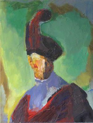 Alain-Guenole-5-d-apres-Velasquez-portrait-ARTree-Ybackgalerie