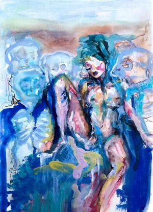 Flor-Mora-Les-fantômes-dans-les-vagues-Ybackgalerie-ARTree