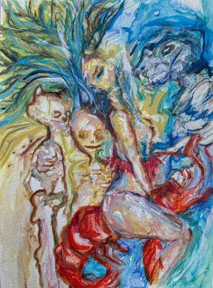 Flor-Mora-Les-jolies-fantômes-Ybackgalerie-ARTree
