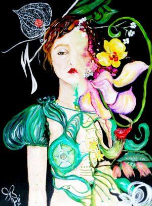 Flor-Mora-je-voudrais-etre-le-reve-d-un-botaniste-Ybackgalerie-ARTree