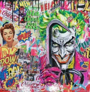 David-Drioton-JOKER-Pop-Art--Ybackgalerie-ARTree