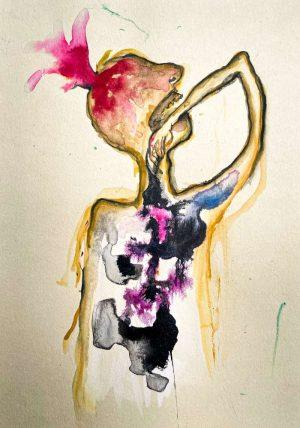 Flor-Mora-La-douleur-Ybackgalerie-ARTree