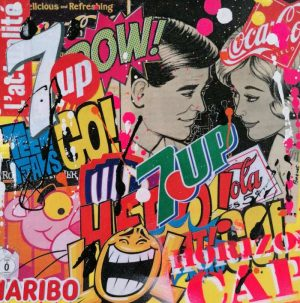 David-Drioton-REGARDE-MOI-Pop-Art-Ybackgalerie-Artree