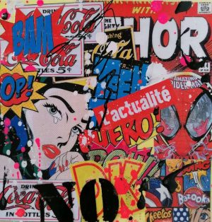 David-Drioton-my-girl-Pop-Art-Ybackgalerie-Artree