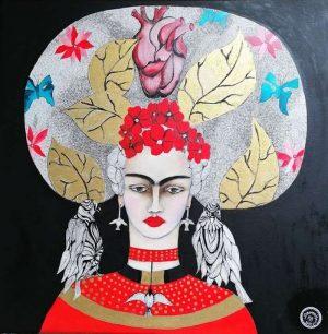Demoiselle-FRIDA-KAHLO-Ybackgalerie-ARTree