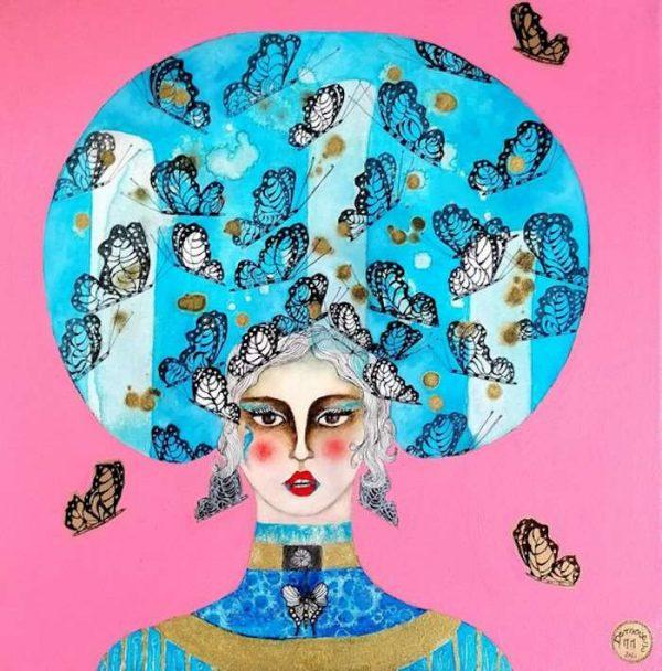 Demoiselle-MARIPOSA-Ybackgalerie-ARTree