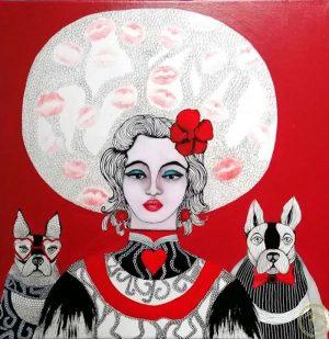 Demoiselle-PIN-UP-Ybackgalerie-ARTree